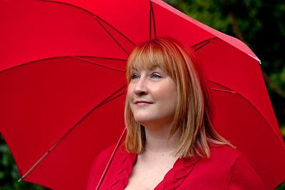 Kristin in Light Rain