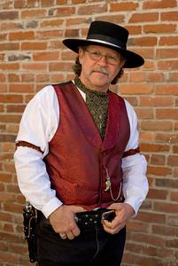 'Gentleman Jim' 1800s Re-enactor