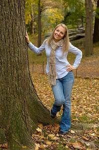 Barbara in Central Park