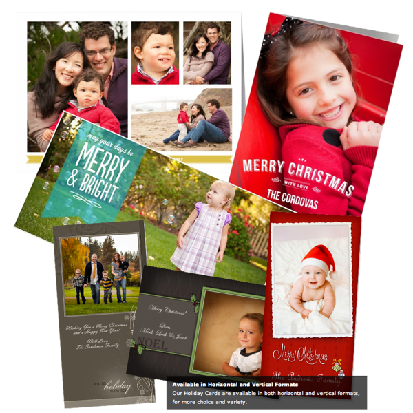 """<h2 class=""""notopmargin""""><u>Holiday and All Occasions Cards</u></h2>  We're so excited to tell you about our brand-new, beautiful and easy-to-love designs. Whether you fancy rustic, elegant, or simple designs, you'll find something that you'll love.   Best of all, you can customize every design with your own words and your favorite photos right from within your gallery. In most of the designs, you even have your pick of a variety of fonts.   Find unique and stylish personalized holiday, baby photo birth announcements, birthday party invitations, and thank you cards!  From within your gallery, click on the """"Buy"""" button and select """"Create a Card"""".  You can then select either the flat 4x8 or the folded 5x7 card.  Have fun creating your very special and personal cards!  <i>Envelopes are included!</i>  <p>Sample pricing for 4 x 8 Flat in Lustre finish: <Table> <tr><td>Box of 20</td><FONT COLOR=""""transparent"""">........................</FONT COLOR=""""transparent""""><td>29.00</td> </tr><tr><td>Box of 50</td><FONT COLOR=""""transparent"""">........................</FONT COLOR=""""transparent""""><td>61.00</td><tr> <td>Box of 100</td><FONT COLOR=""""transparent"""">....................</FONT COLOR=""""transparent""""><td>111.00</td> <tr> </tr> <p>Sample pricing for 5 x 7 Folded in Lustre finish: <Table> <tr><td>Box of 10</td><FONT COLOR=""""transparent"""">........................</FONT COLOR=""""transparent""""><td>31.00</td> </tr><tr><td>Box of 25</td><FONT COLOR=""""transparent"""">........................</FONT COLOR=""""transparent""""><td>66.00</td><tr>  </tr> <i> All pricing is subject to change. </i> <p> <span>Wapakoneta, OH. 419-739-2568 <a href=""""mailto:office@cloustudio.com""""><span style=""""font-size: small;"""">office@cloustudio.com</span></a><br /></span></span></p>"""