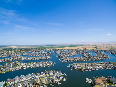 Aerial Scenery. Discovery Bay, CA, USA