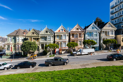 Painted Ladies. Alamo Square - San Francisco, CA, USA
