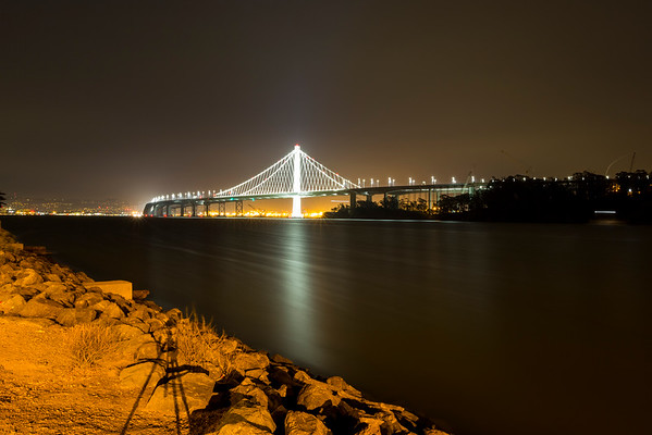 Bay Bridge. Treasure Island, CA