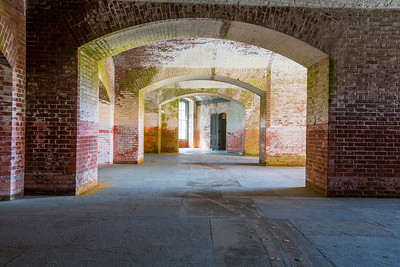 HDR Composition. Fort Point National Historic Site - San Francisco, CA, USA