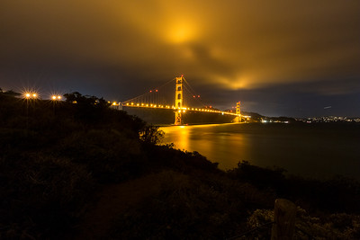 Golden Gate Bridge. Presidio - San Francisco, CA, USA