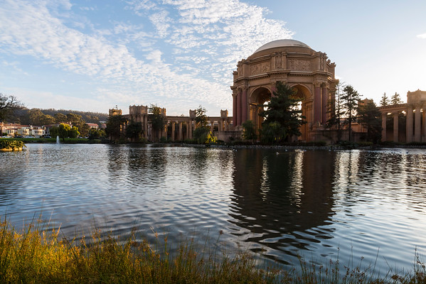 Sunset. Palace of Fine Arts - San Francisco, CA
