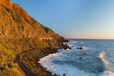 Sunset. SR-1 - Big Sur, CA, USA