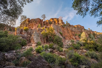 HDR Composition. Pinnacles National Park, CA, USA