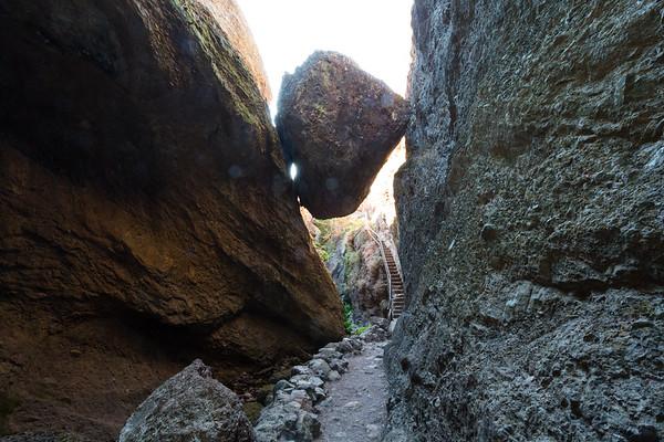 Bear Gulch Cave. Pinnacles National Park, CA, USA