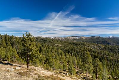 SR-88. Eldorado National Forest, CA, USA