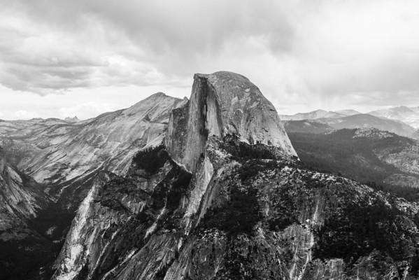 Half Dome. Glacier Point - Yosemite National Park - California, USA