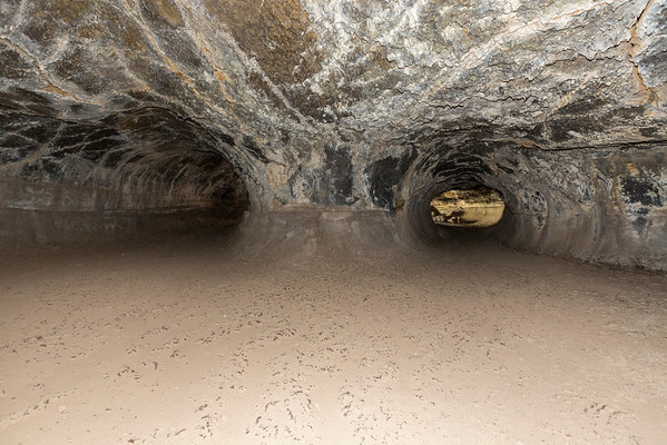 Valentine Cave. Lava Beds National Monument - Tulelake, CA, USA