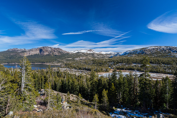 Silver Lake & Treasure Island. SR-88. Eldorado National Forest, CA, USA