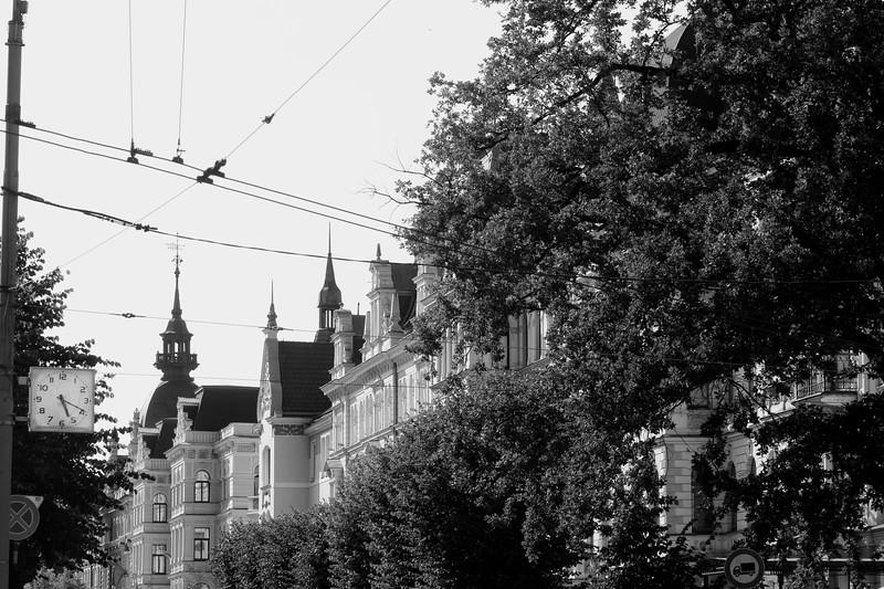 Riga, Latvia --  a city of a million faces and twice as many eyes.
