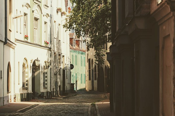 Riga, Latvia --  a city of a million faces and twice as many eyes.