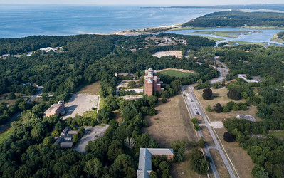 Quick Look over Smithtown Bay,  Nissequogue River State Park and Short Beach.