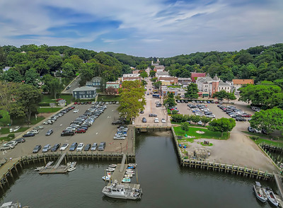 Northport Harbor Aerial Pano