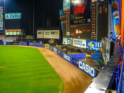 Shea Stadium Right Field & Scoreboard