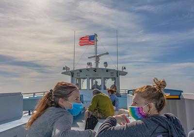 Ferry to Ocean Beach, Fire Island.