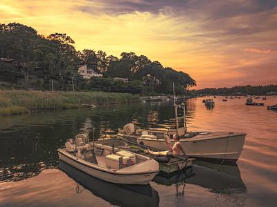 Summertime Huntington Bay
