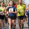 Marathon runners in Rotterdam