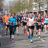 Group marathon runners