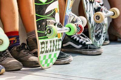 Feet and wheels