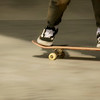 Skateboard speed blur