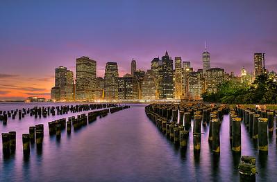 Citylights- Lower Manhattan NYC