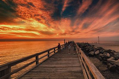 A Friday Night in July-Cedar Beach, Mt Sinai Harbor NY