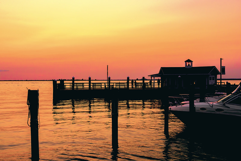 Fire Island Fine Art, Saltaire sunset