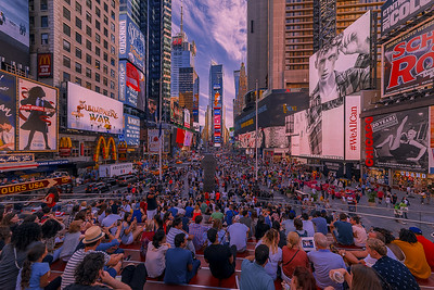The Spectacle Of Times Square NYC