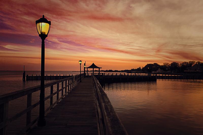 Corey Beach Sunset