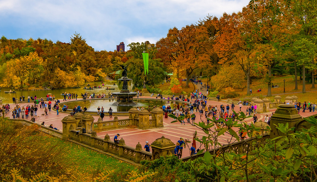 Bethesda Fountain, Central Park NYC