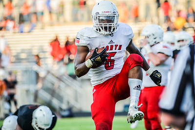 Scenes from the North Gwinnett vs. Lanier spring football game Friday night. (Photo: Nicole Seitz)