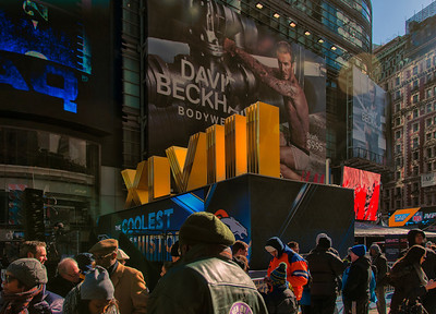 Super Bowl Boulevard, Times Square NYC