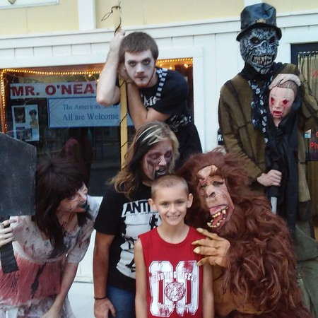 Zombies want to eat my son!
