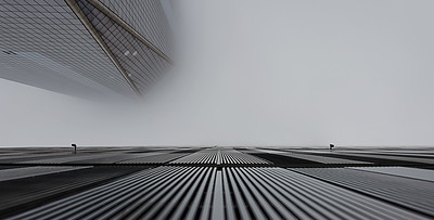 Foggy One World Trade Center