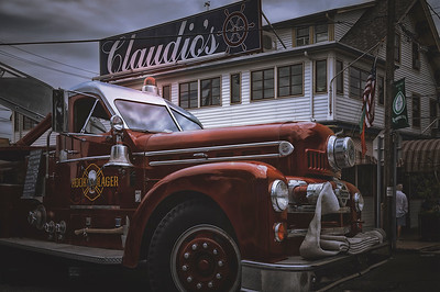 Hook And Lager Fire Truck