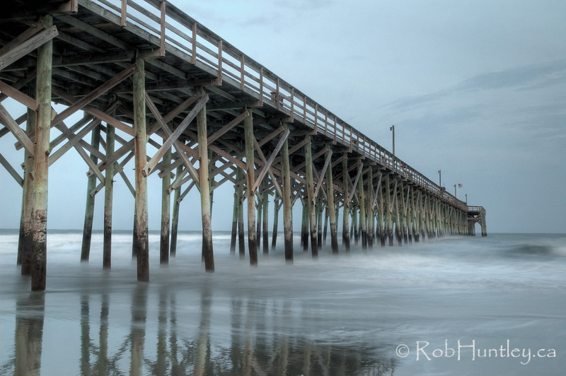 Pier at Dusk, Pawley's Island, South Carolina License this photo on Getty Images © Rob Huntley