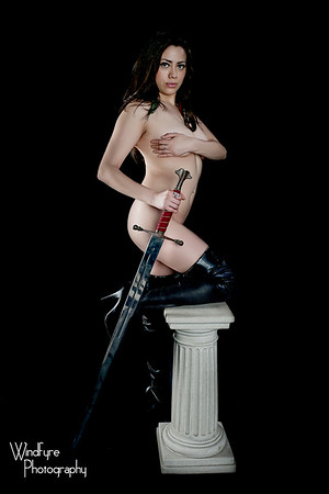 Queen Jeska with Swords