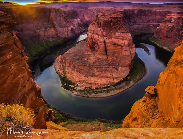 The Face of Horseshoe Bend