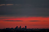 Downtown Denver Skyline 3200 ISO Sunrise<br /> (because it was too windy for a tripod)