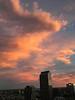 1 November sunset while I worked late