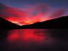 Fire and Ice... Frozen Echo Lake