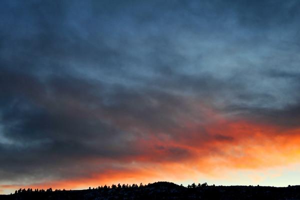 New Year's Sunset, 2011
