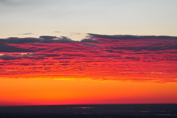 Sunrise from Lookout Mountain
