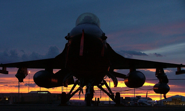 Grand Junction Air Show Sunset
