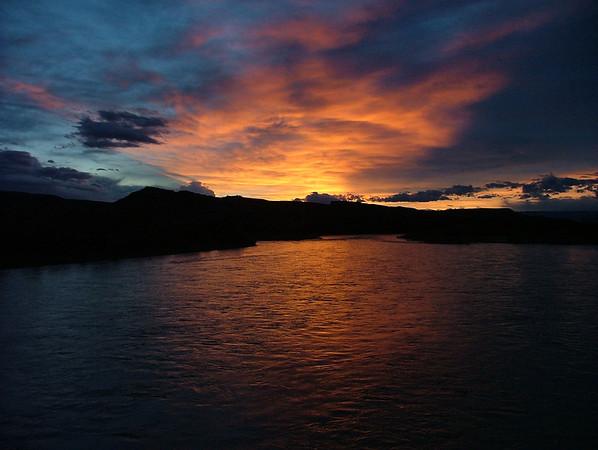 Colorado River Sunset