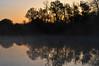 Misty Sunrise on the South Platte